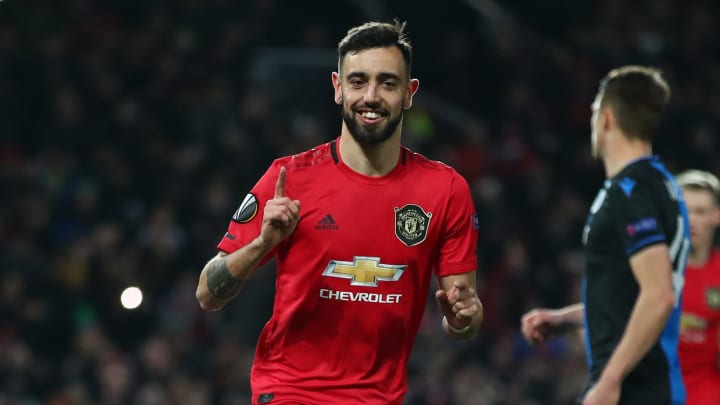 Bruno Fernandes Named Man Utd's 2019/20 Sir Matt Busby Player of the Year