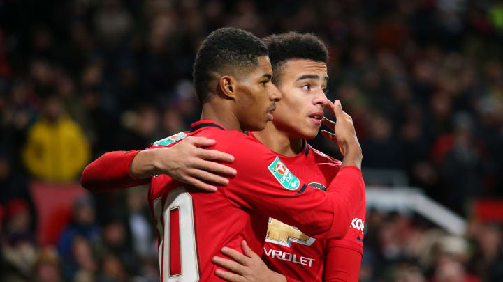 Mason Greenwood is a doubt for Manchester United.