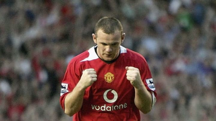 Rooney burst onto the scene as a youngster for Manchester United