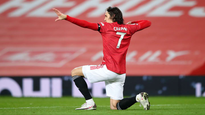 Edinson Cavani could play up to three times for Man Utd in FPL gameweek 35