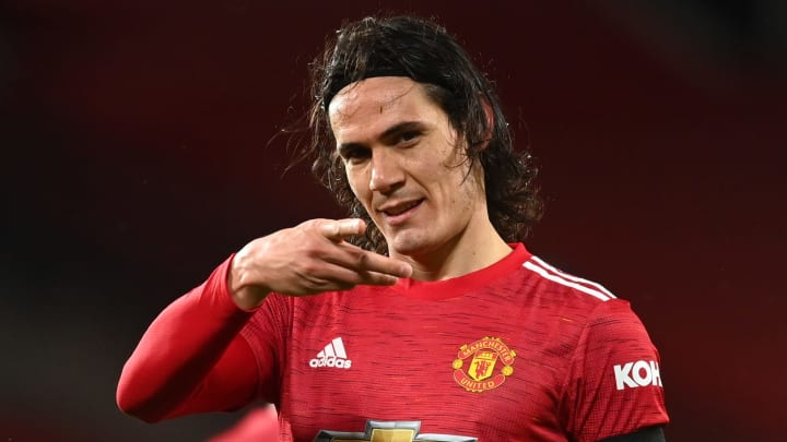 Edinson Cavani has impressed since joining Man Utd