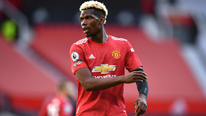 Paul Pogba's contract has 12 months left to run