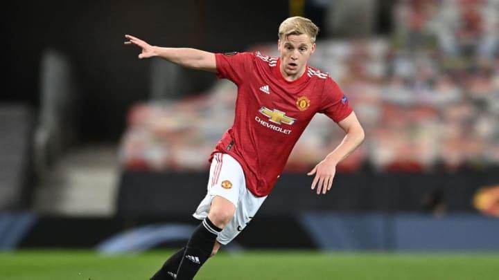 Donny van de Beek Champions League Inter de Milão Manchester United