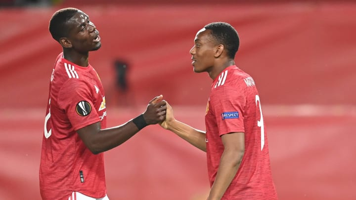 Paul Pogba, Anthony Martial