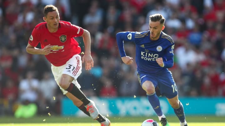 James Maddison, Matic, Manchester United, Leicester City