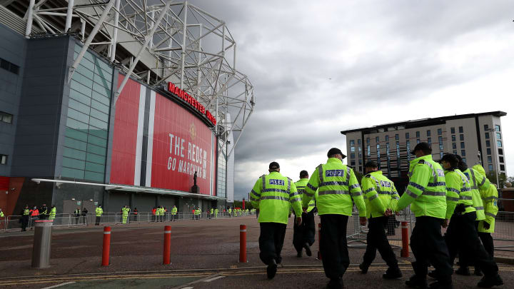 Manchester United vs Liverpool was targeted by protests again