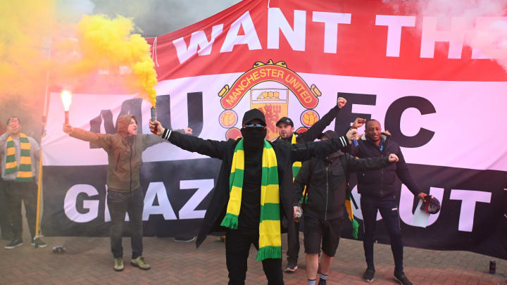 Thousands of fans were involved in the protests