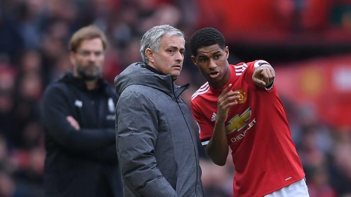 Jose Mourinho berikan pujian pada Rashford jelang laga kontra Manchester United