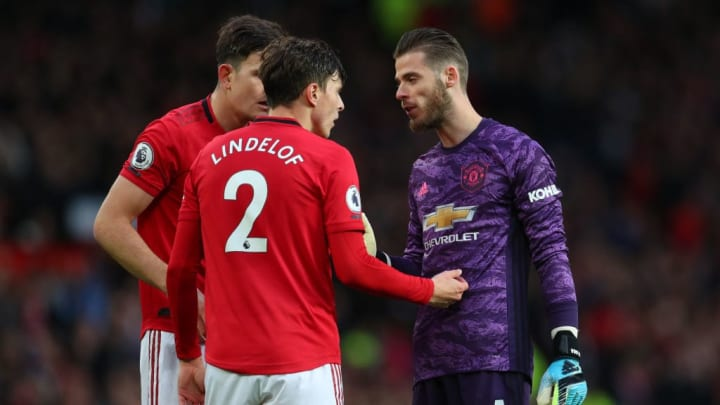Harry Maguire, Victor Lindelöf, David De Gea
