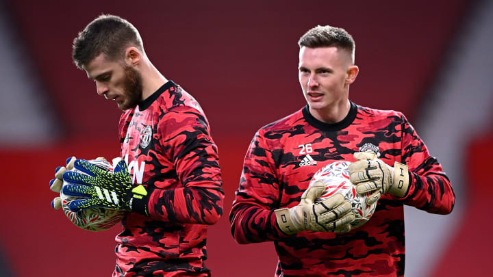 Man Utd currently have a lot of goalkeeping talent on their books