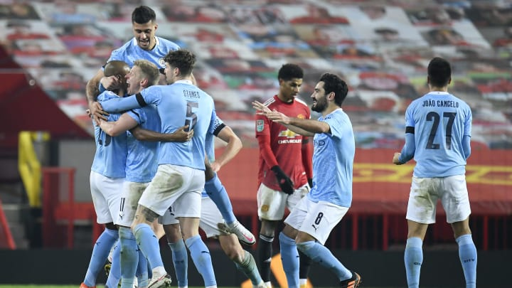 Fernandinho's Goal Sees Man City Progress to the Carabao Cup Final After  Beating Manchester United at Old Trafford