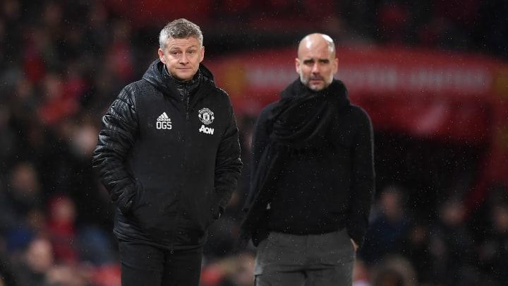 Solskjaer has beaten Guardiola three times as Manchester United boss.