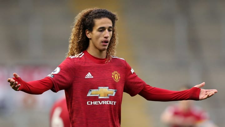 Hannibal is a regular for United's Under-23s