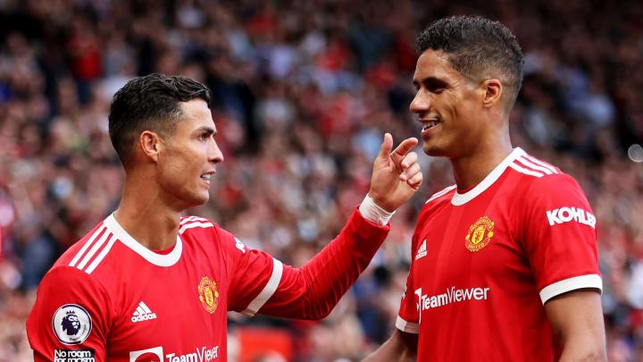 Cristiano Ronaldo et Raphaël Varane se sont retrouvés cet été avec Manchester United.