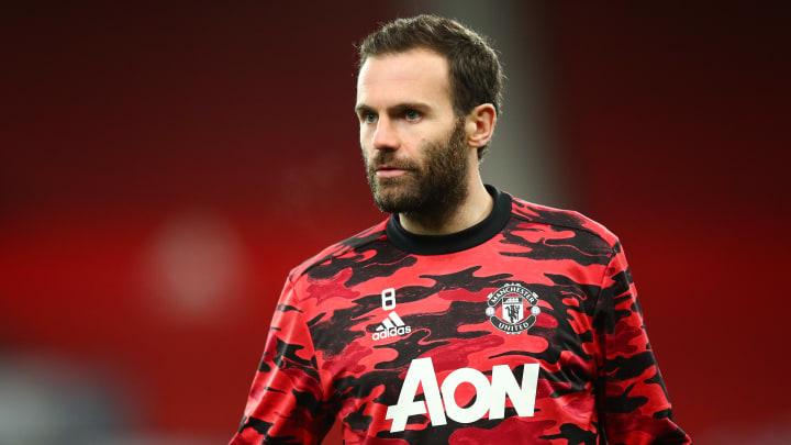 Juan Mata has become a fringe player at Man Utd