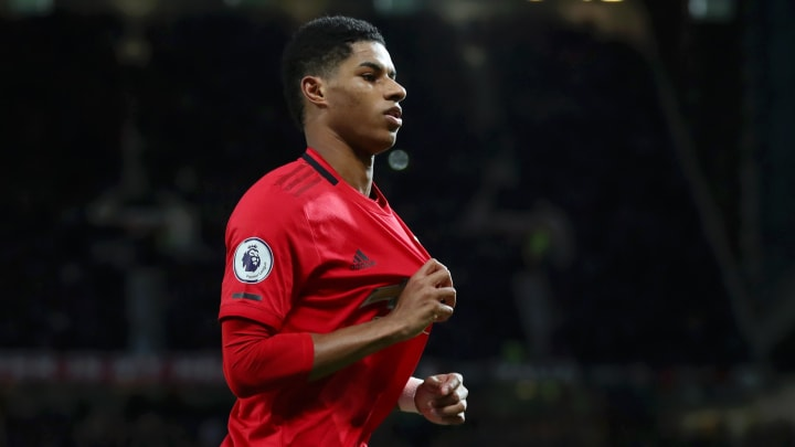 Marcus Rashford has signed with Roc Nation