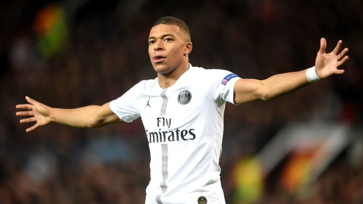 Kylian Mbappe Bayern de Munique PSG Champions League