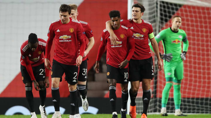 United smashed RB Leipzig 5-0 in the Champions League