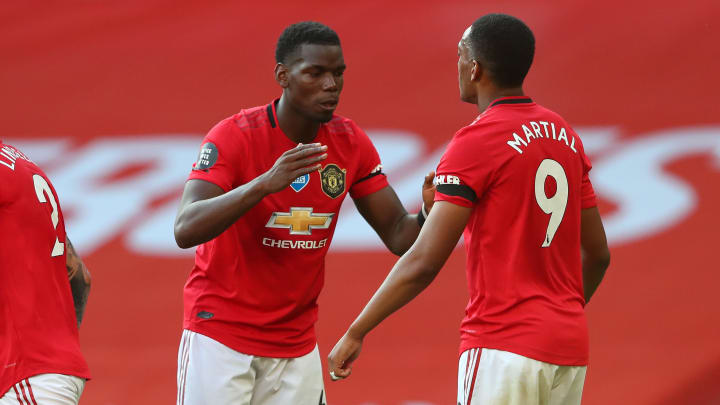 Anthony Martial, Paul Pogba