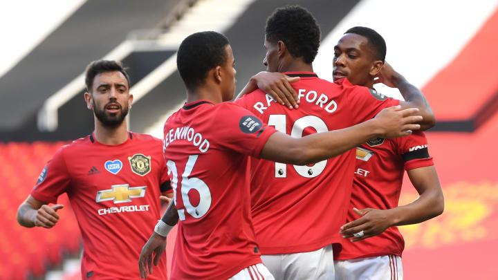 Rashford, Martial Match Ronaldo & Tevez's Record as Bruno Equals ...