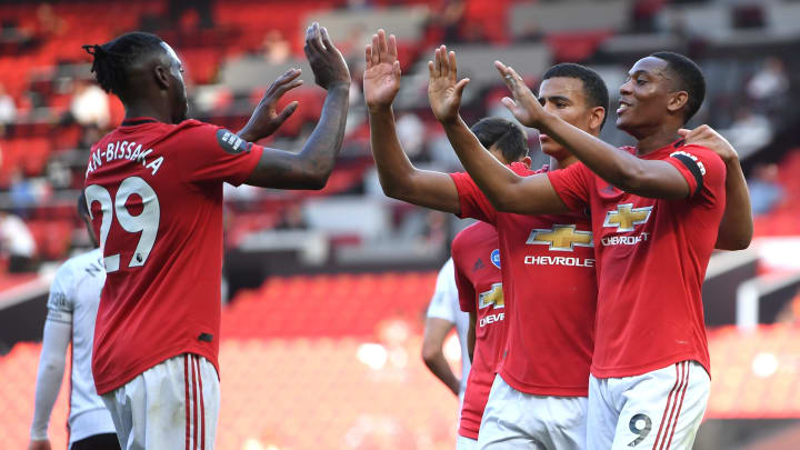 Anthony Martial was instrumental in Manchester United seeing off Sheffield United