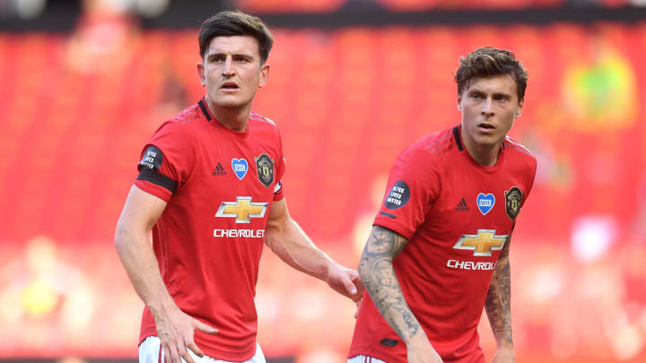 Manchester United's starting centre-backs are both doubts for Saturday