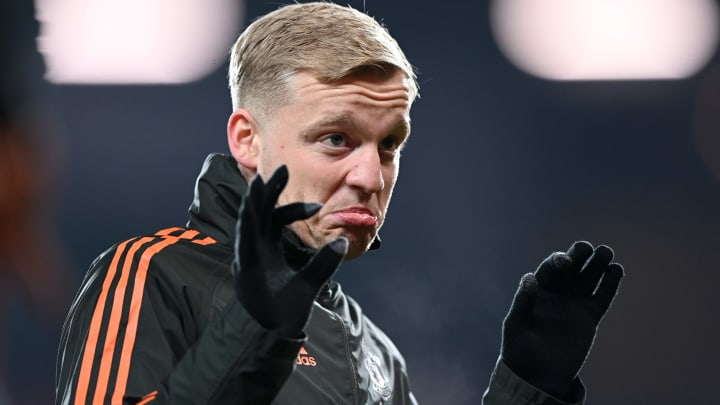Donny van de Beek has found it difficult to adjust at Manchester United