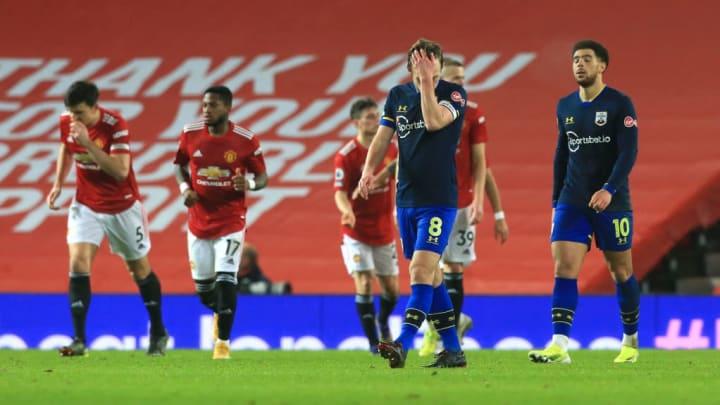 James Ward-Prowse Manchester United Southampton Premier League