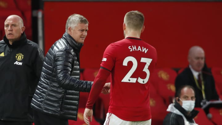 Luke Shaw, Ole Gunnar Solskjaer, Brandon Williams