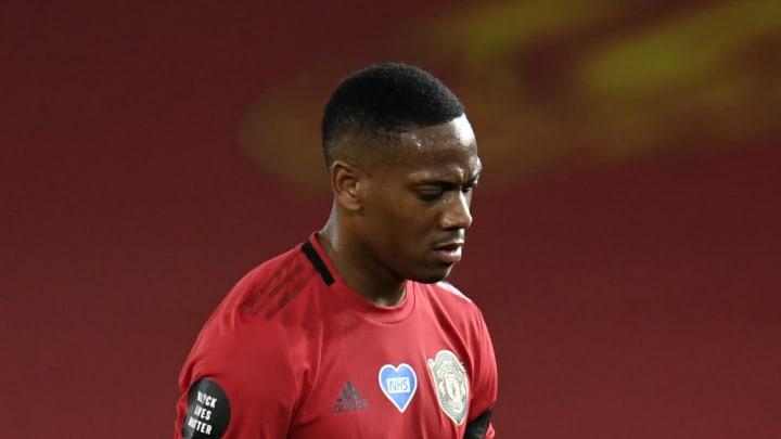 Martial a marqué dans le match Manchester United v Southampton FC - Premier League