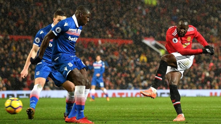 Big Rom scored in both his appearances against Stoke for Man United