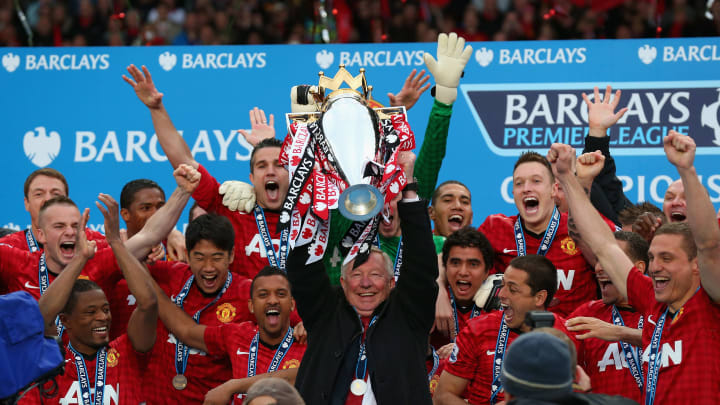 Manchester United have won 13 of 28 Premier League seasons