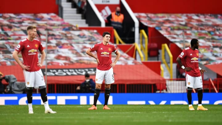 Manchester United have continued to look frail defensively at times this season