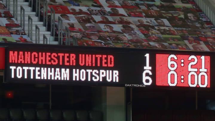 Manchester United v Tottenham Hotspur - Premier League