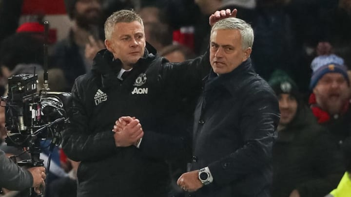 Mourinho and Solskjaer have been having some fun