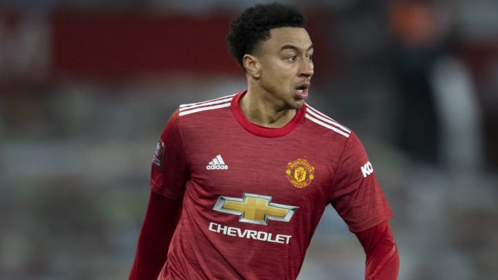 Jesse Lingard is out in the cold at Manchester United