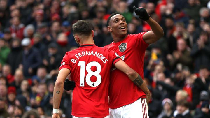 แอนโธนี่ Martial, Bruno Fernandes