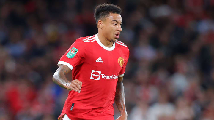 Jesse Lingard has only started one game for Man Utd this season