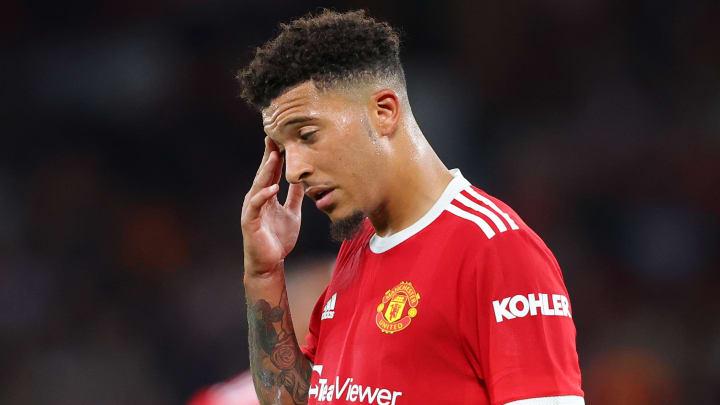 Jadon Sancho ist bei Man United noch nicht richtig angekommen