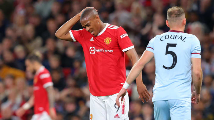 Anthony Martial gibt Anlass zur Sorge