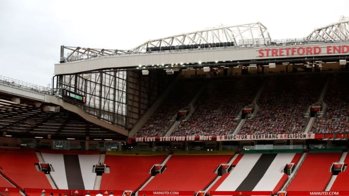 Old Trafford, home of Manchester United