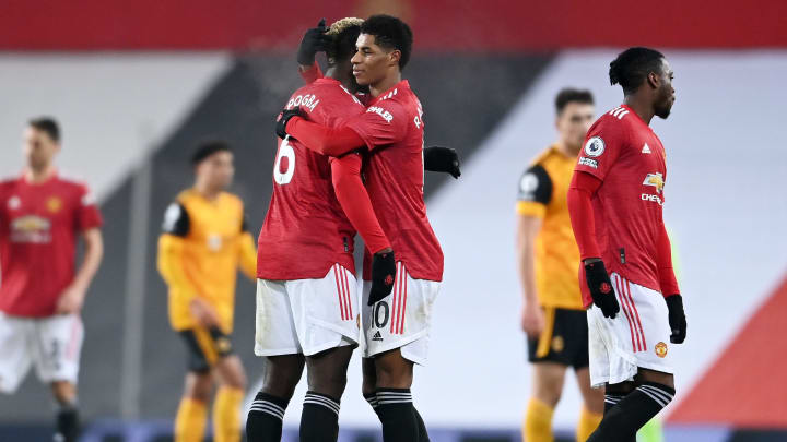 Man Utd secured a late 1-0 win against Wolves