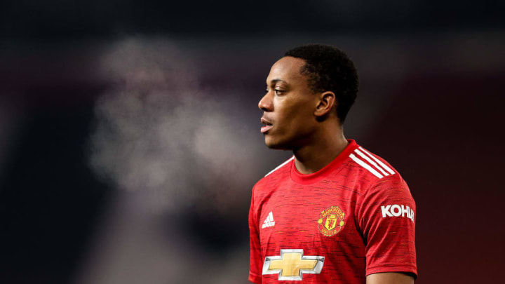 Anthony Martial has just two Premier League goals this season