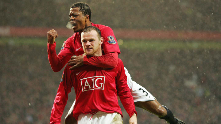 Manchester United's French player Patric