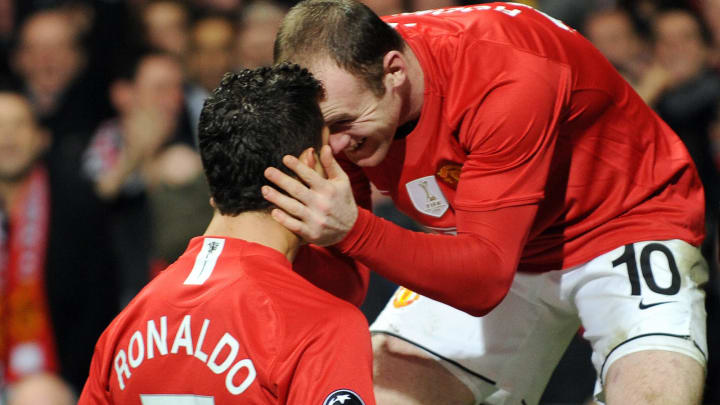 Wayne Rooney formed a destructive partnership with Cristiano Ronaldo at Manchester United