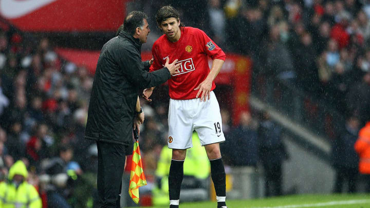 Manchester United's Spanish defender Ger