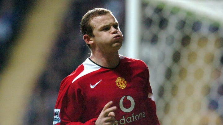 Manchester United's Wayne Rooney celebra
