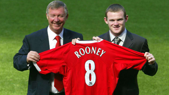 Wayne Rooney was wanted by Newcastle, Chelsea, and Man United in 2004