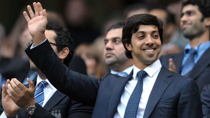Lo sceicco Mansour, proprietario del Manchester City