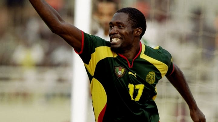 Marc Vivien Foe of Cameroon